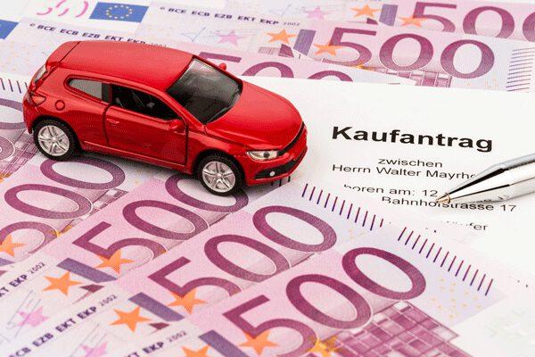 VW Scirocco, Kaufantrag und Geld
